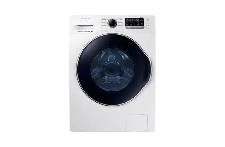 "Samsung 2.6 cu. ft. 24"" Front Load Washer with Super Speed CO-WW22K6800AW/A2"