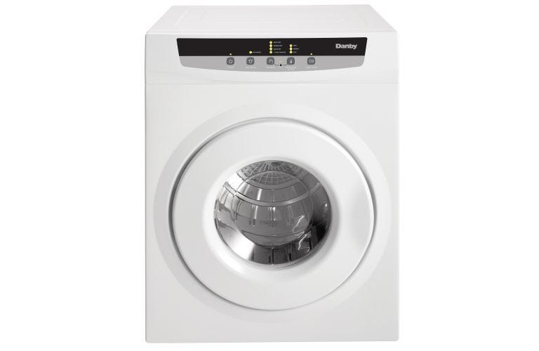 Danby 3.4 CUFT 110V PORTABLE ELECTRIC DRYER DDY060WDB