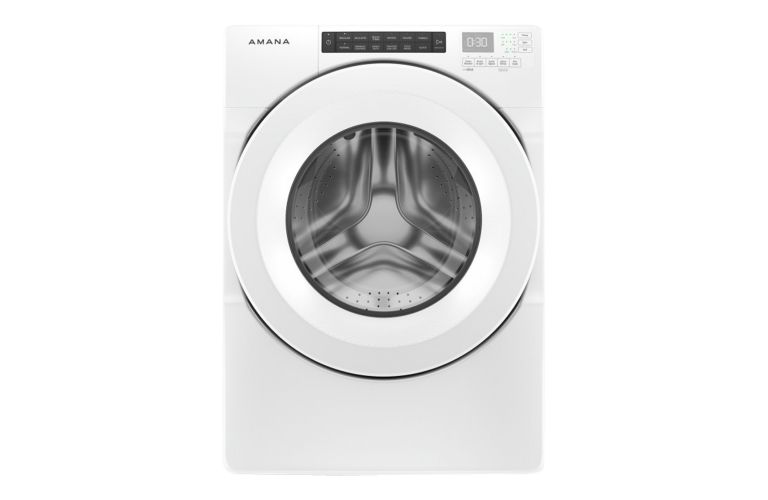 Amana 5.0 cu. ft. I.E.C. ENERGY STAR Qualified Front Load Washer NFW5800HW