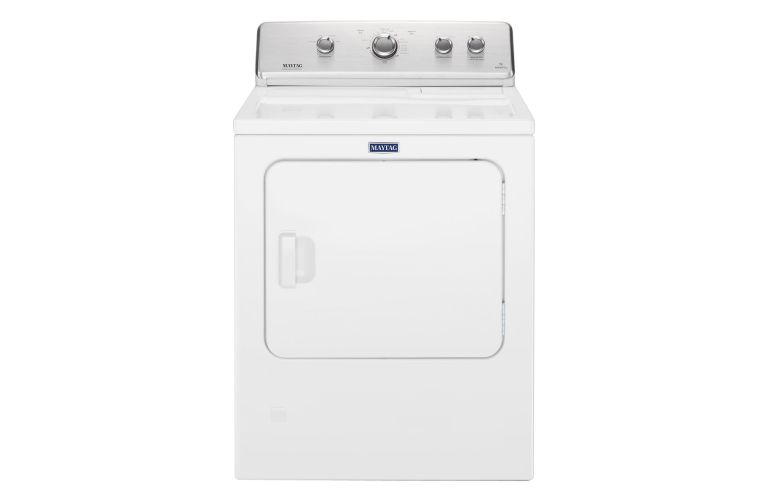 Maytag Large Capacity Top Load Dryer with Wrinkle Control – 7.0 cu. ft. YMEDC465HW