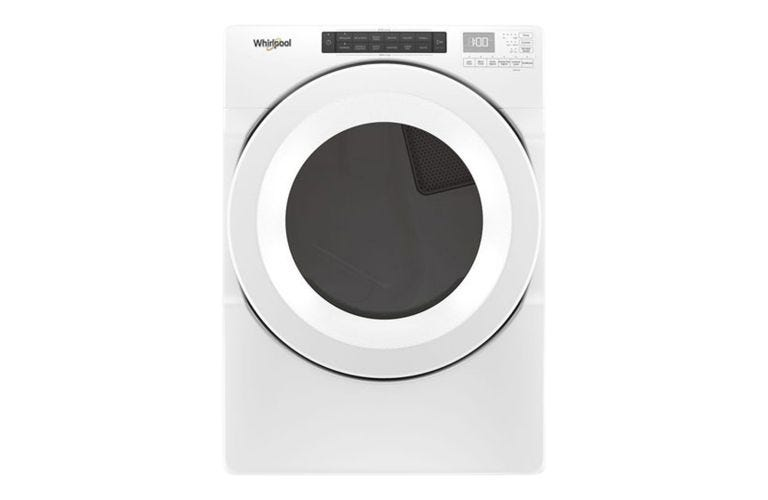 Whirlpool 7.4 cu. ft. Front Load Electric Dryer with Intuitive Touch Controls YWED5620HW