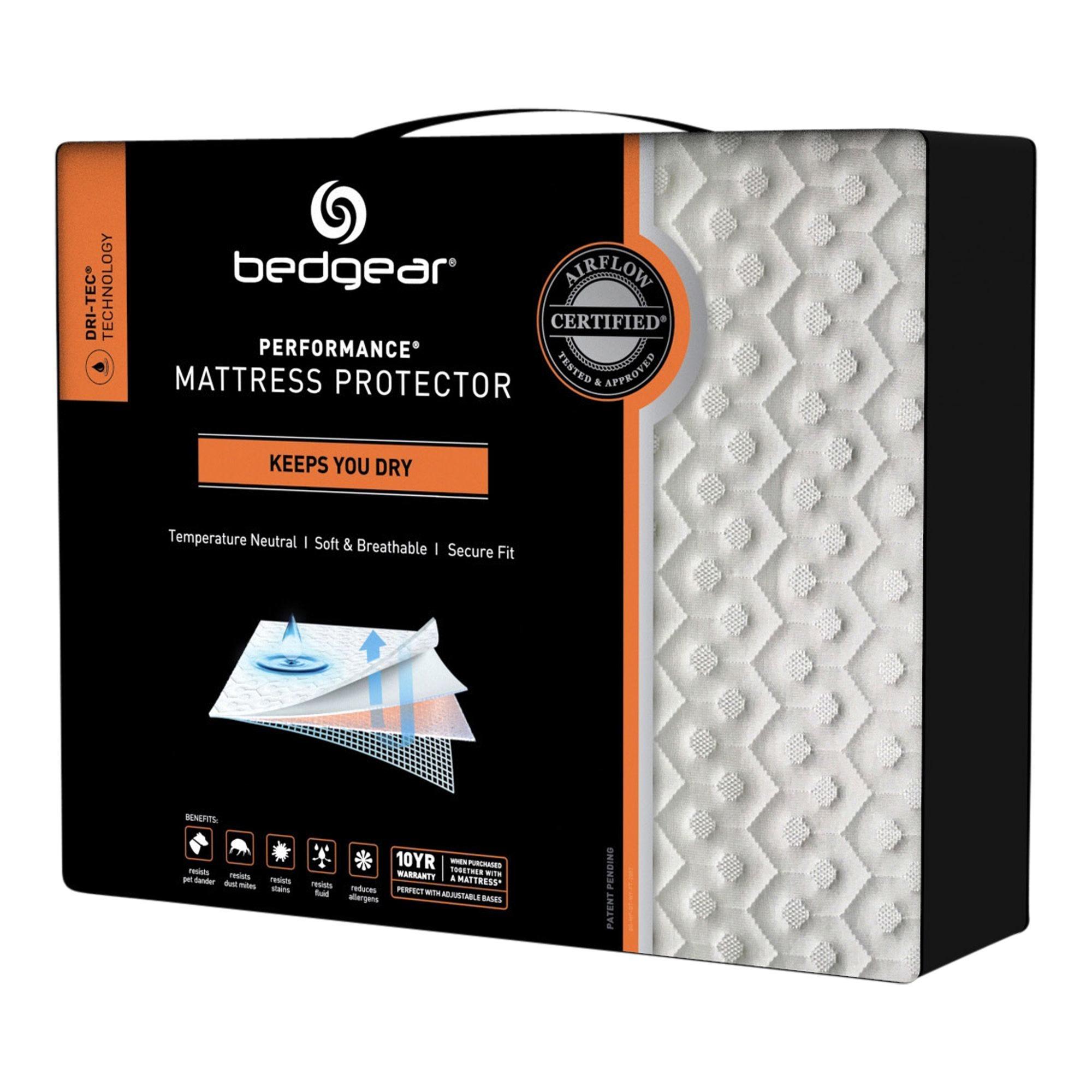 Bedgear Bedgear Dri Tec Queen Mattress Protector Tepperman S