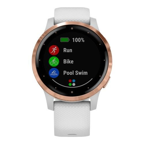 GARMIN VIVOACTIVE 4S GPS-WHITE/ROSE GOLD 010-02172-21