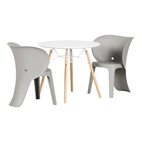 SWEEDI ELEPHANT TABLE AND CHAIRS