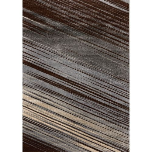 DELTA GREY HAZE AREA RUG - 5'3 X 7'7