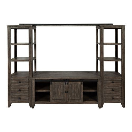 MADISON COUNTY 4 PC WALL UNIT - BARNWOOD