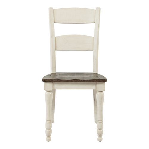MADISON COUNTY SIDE CHAIR - IVORY