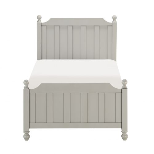TIA TWIN 3 PC BED - GREY