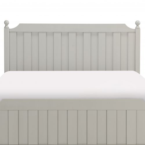 TIA FULL HEADBOARD - GREY