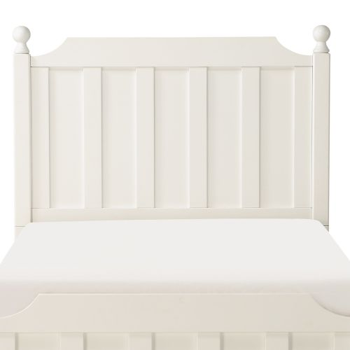 TIA TWIN HEADBOARD - WHITE