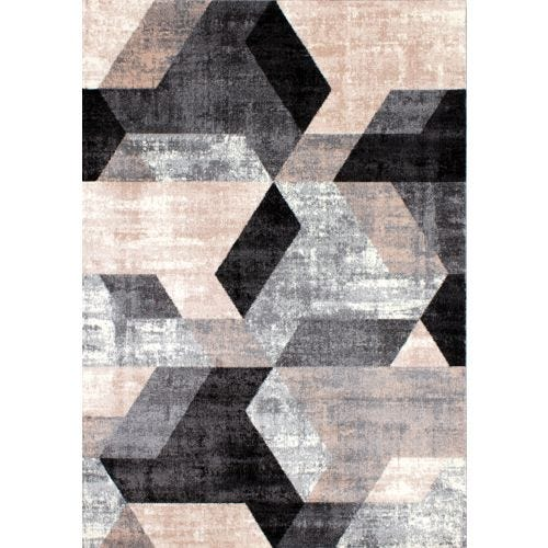 DAWN ORGANIC HEX 5X8 AREA RUG