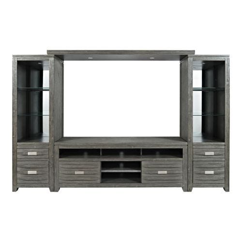 ALTAMONTE LARGE 4 PC WALL UNIT - GREY