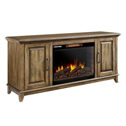"RTA MARCO 60"" FIREPLACE MEDIA CONSOLE W /BLUETOOTH"