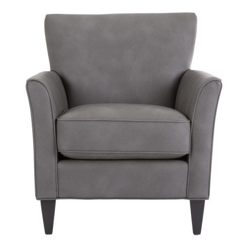 HANNAH USCITA CHARCOAL ACCENT CHAIR