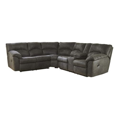 TAMBO STEEL 2 PIECE RECLINING SECTIONAL (48/49)