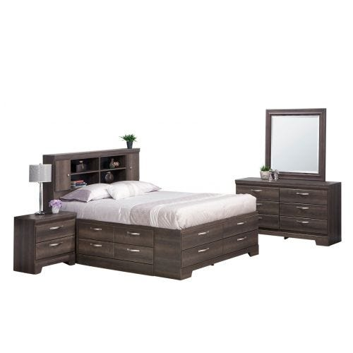 SONOMA QN 8PC STORAGE BEDROOM SET