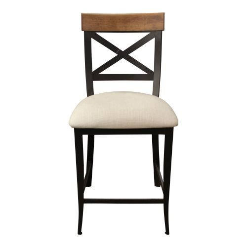 "KYLE 26"" UPHOLSTERED STOOL - COUNTER HEIGHT"