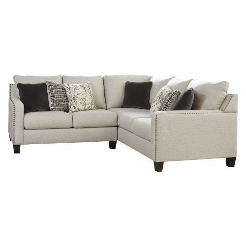 HALLENBERG STONE 2 PIECE SECTIONAL (55/49)