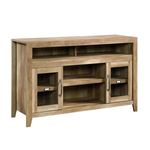 DAKOTA PASS MEDIA CONSOLE - CRAFTSMAN OAK