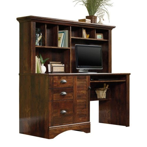 HARBOR VIEW COMPUTER DESK - CURADO CHERRY