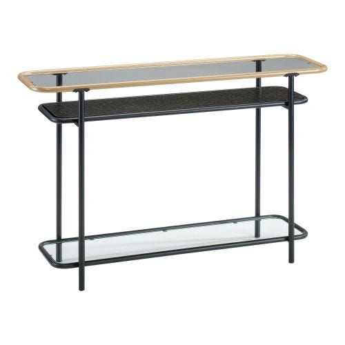BOULEVARD CAFE CONSOLE TABLE - BLACK