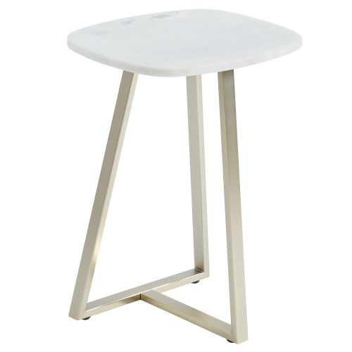 ELLIS MARBLE END TABLE