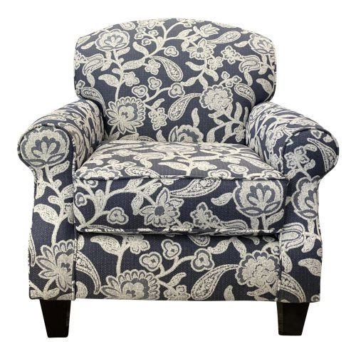 ASHBY INDIGO ACCENT CHAIR