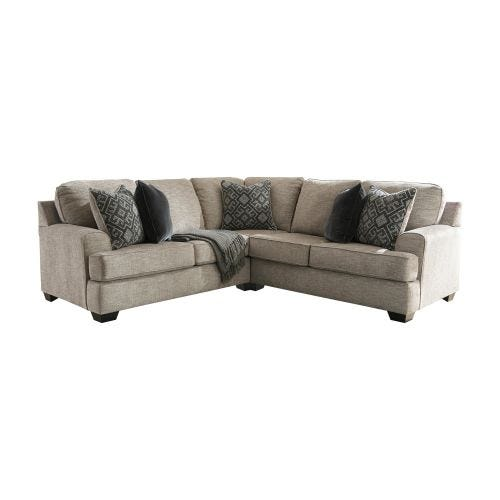 BOVARIAN STONE 2 PIECE SECTIONAL (56/48)
