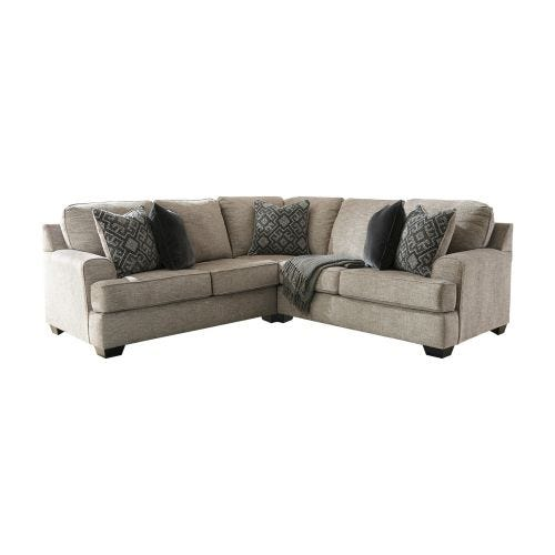 BOVARIAN STONE 2 PIECE SECTIONAL (49/55)