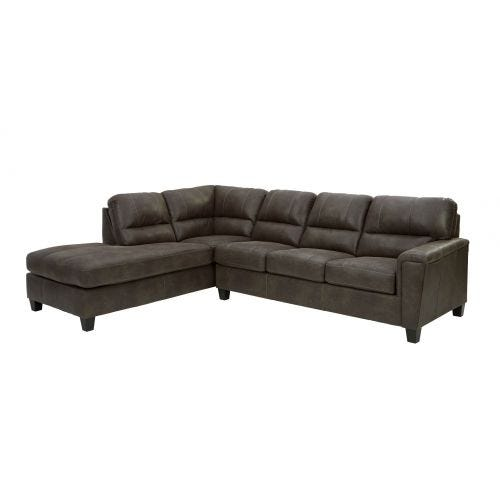 NAVI II SMOKE 2 PIECE SECTIONAL (16/67)