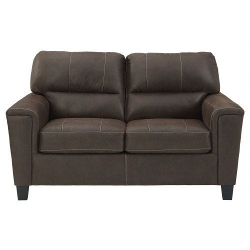 NAVI CHESTNUT LOVESEAT