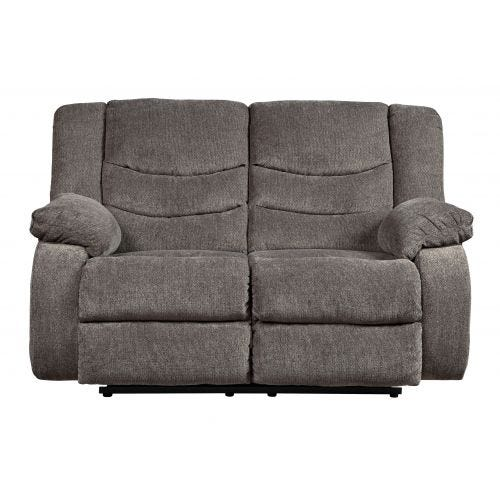 TULLEN GREY RECLINING LOVESEAT