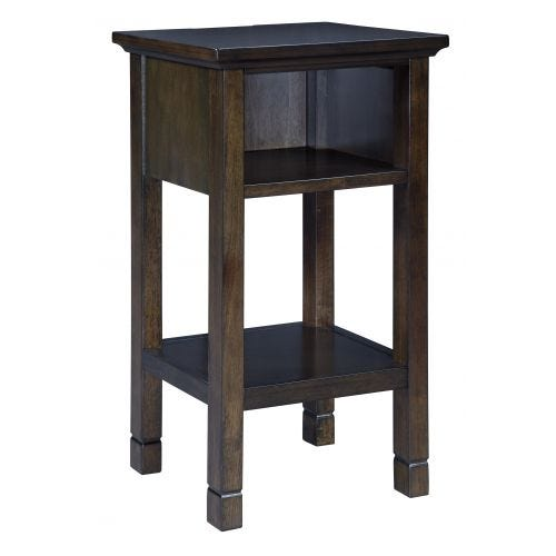 MARNSVILLE ACCENT TABLE - ESPRESSO