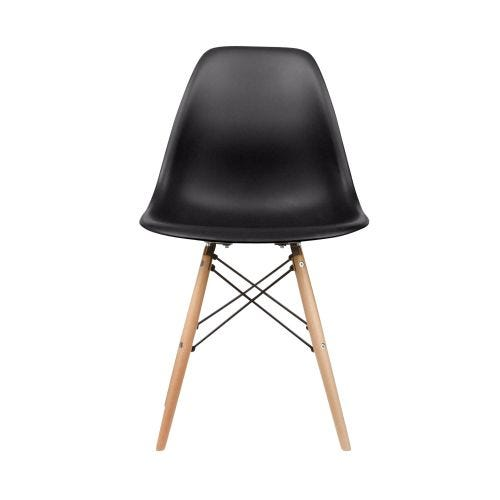 ALEXIS SIDE CHAIR - BLACK