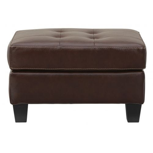 ALTONBURY CHOCOLATE OTTOMAN