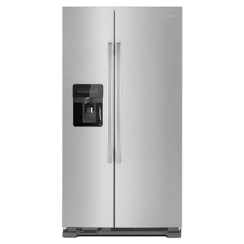 "Amana 33"" Side-by-Side Refrigerator with External Ice and Water Dispenser CO-ASI2175GRS"