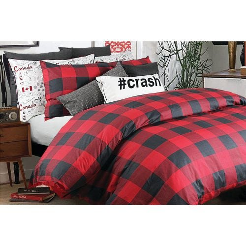CHESTER 3 PC KING DUVET COVER SET (COTTON SATEEN)
