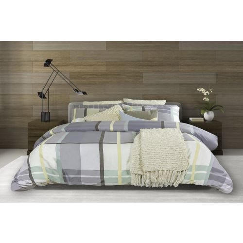 COVE HAVEN TWIN 2 PC DUVET COVER SET (COTTON TWILL