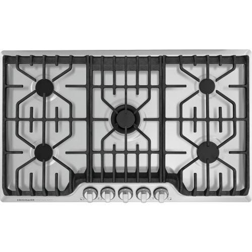 "Frigidaire Professional 36"" Gas Cooktop with Griddle CO-FPGC3677RS"