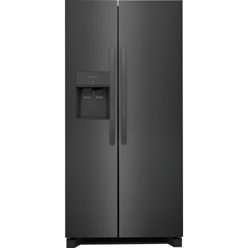 Frigidaire Black Stainless Steel 23 cu.ft. Side By Side Refrigerator CO-FRSS2323AD