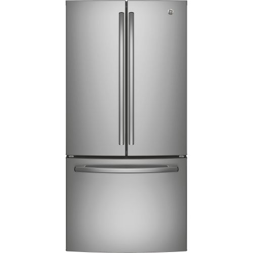 GE STAINLESS STEEL FRENCH DOOR FRIDGE CO-GNE25DSKSS
