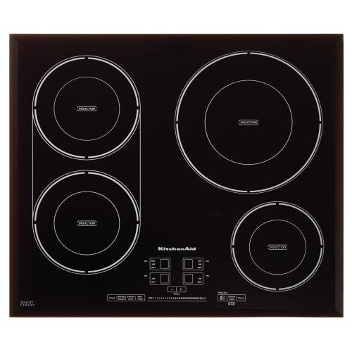 KitchenAid 24-Inch, 4-Element Induction Cooktop CO-KCIG704FBL