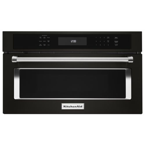 "KitchenAid 27"" Built In Microwave Oven with Convection Cooking CO-KMBP107EBS"