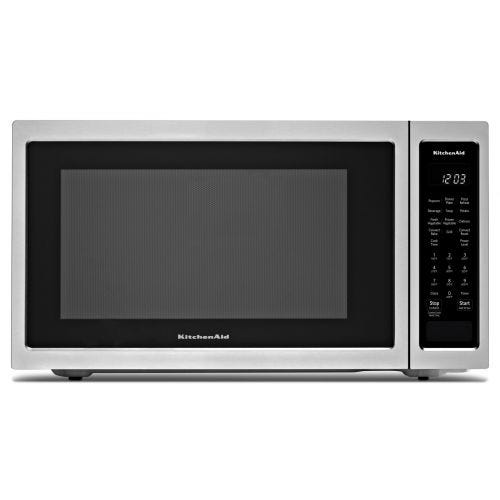 "KitchenAid 21 3/4"" Countertop Convection Microwave Oven - 1000 Watt CO-KMCC5015GSS"
