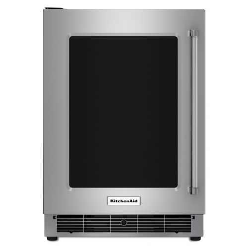 "KitchenAid 24"" Stainless Steel Undercounter Refrigerator CO-KURL304ESS"