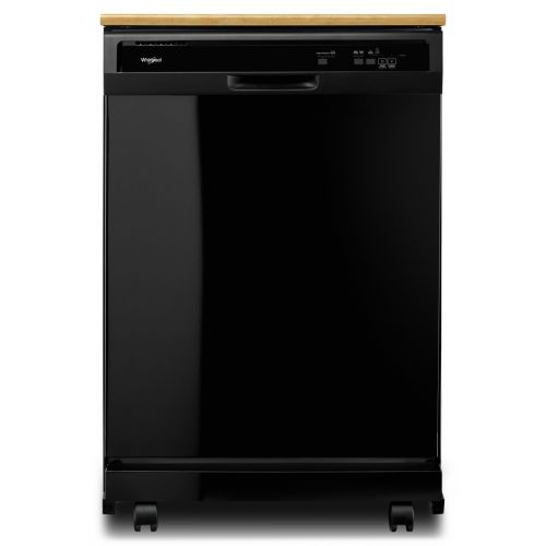 Whirlpool Heavy-Duty Dishwasher with 1-Hour Wash Cycle CO-WDP370PAHB