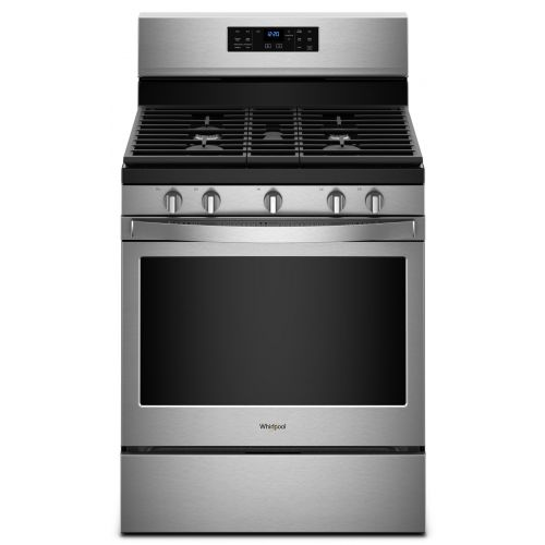 Whirlpool 5.0 cu. ft. Freestanding Gas Range with Fan Convection Cooking CO-WFG550S0HZ