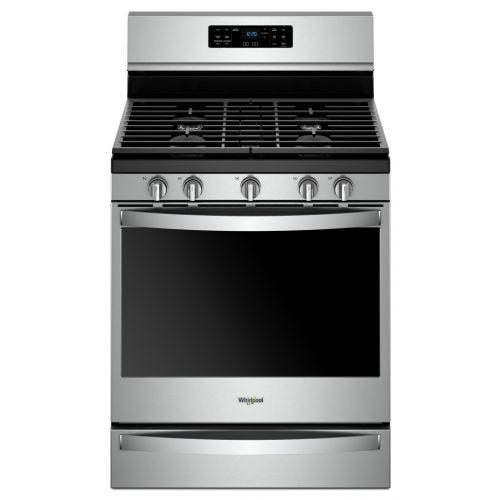 Whirlpool 5.8 Cu. Ft. Freestanding Gas Range with Frozen Bake Technology CO-WFG775H0HZ