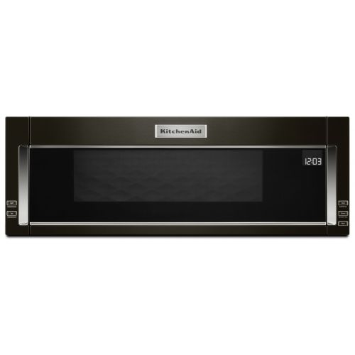 KitchenAid 1000-Watt Low Profile Microwave Hood Combination CO-YKMLS311HBS