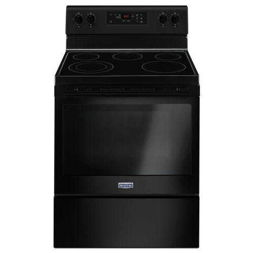 Maytag 30-INCH WIDE ELECTRIC RANGE - 5.3 CU. FT. CO-YMER6600FB